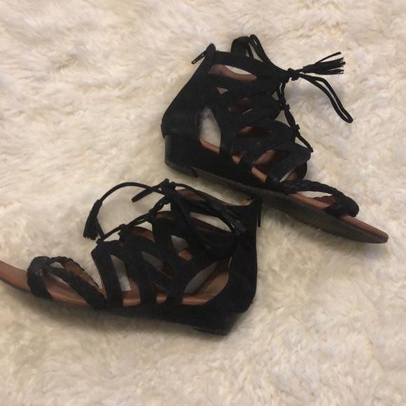 Sonoma Shoes | Womens Black Gladiator